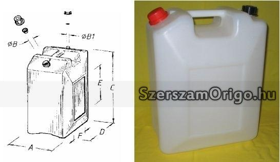 FI36/20 könnyített pálinkának, bornak, üzemanyagnak